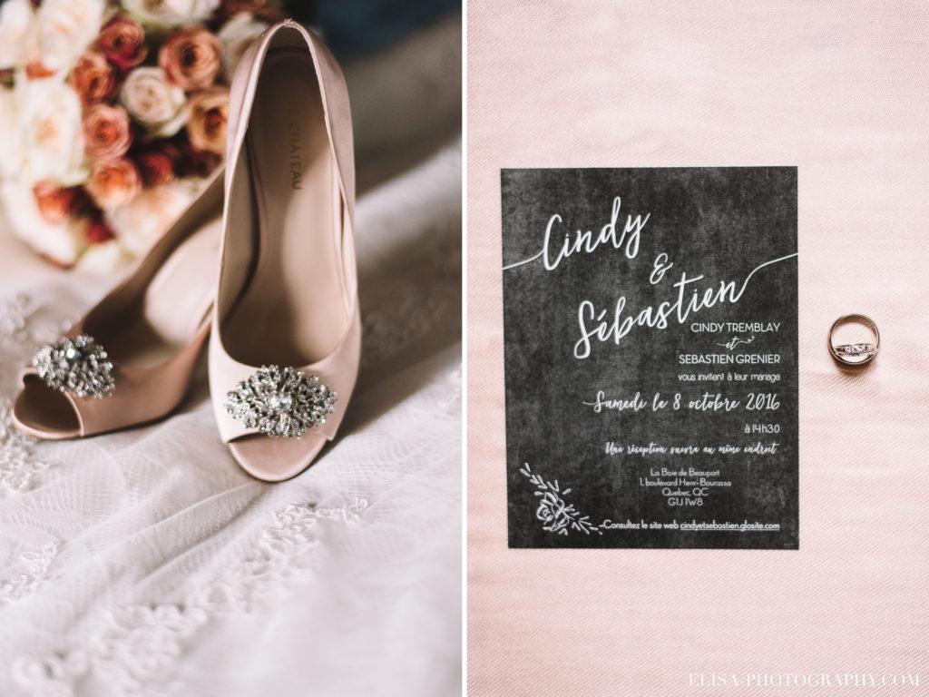 mariage-baie-de-beauport-automne-rose-vintage-souliers-bague-invitation-photo