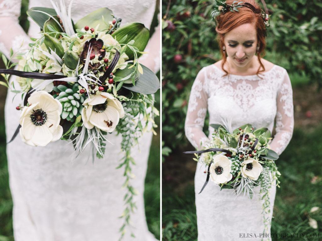 mariage-portrait-mariee-bouquet-cactus-succulente-verger-domaine-dunham-photo