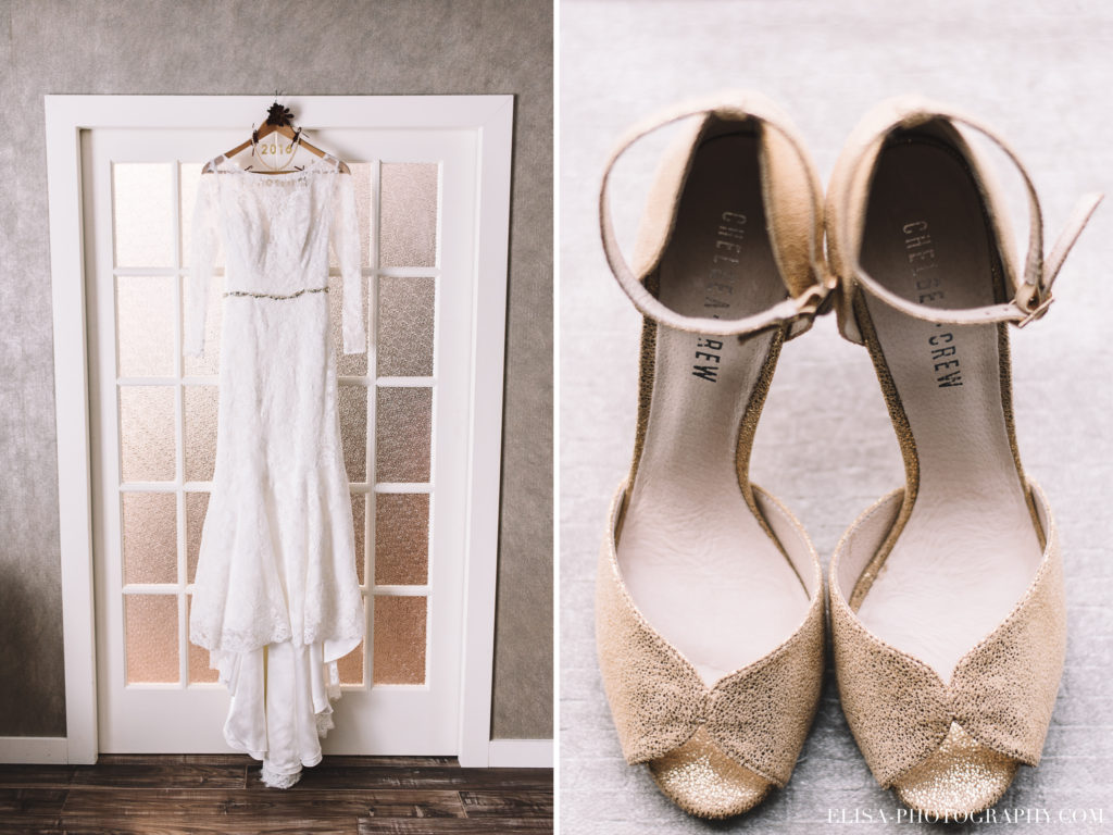 mariage-souliers-robe-vintage-manches-longues-hotel-castel-photo