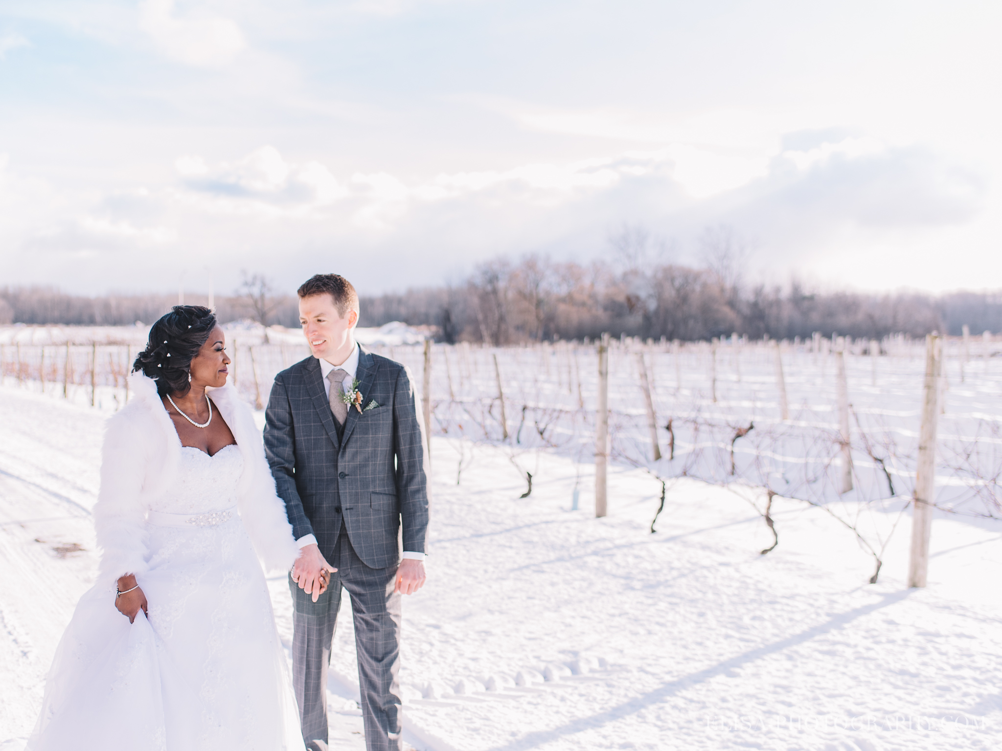 mariage en hiver a quebec winter wedding chateau taillefer lafont photo