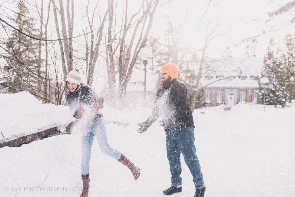 fiancailles ville quebec hiver winter engagement hot chocolate chocolat chaud photo 4 1024x684 - Séance fiançailles dans la neige: Audrey-Ann + Pascal