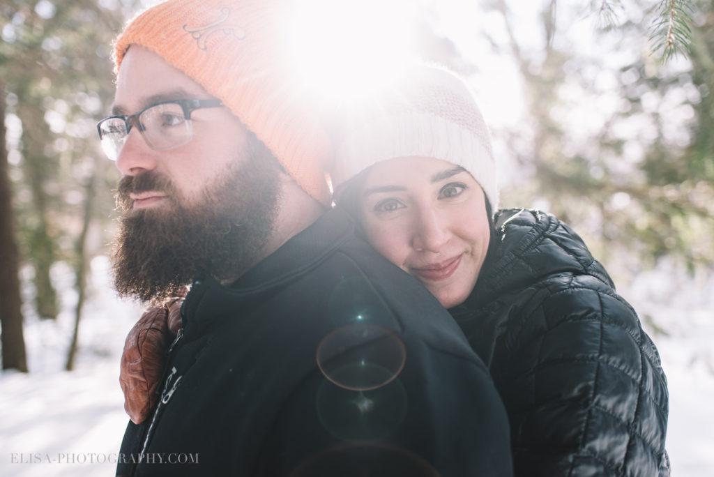 fiancailles ville quebec hiver winter engagement hot chocolate chocolat chaud photo 6068 1024x684 - Séance fiançailles dans la neige: Audrey-Ann + Pascal