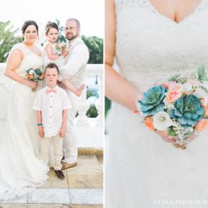 MARIAGE de rêve à destination bouquetière famille mariée grand bahia principe jamaïque photo 6099 1 300x300 - Galerie à destination