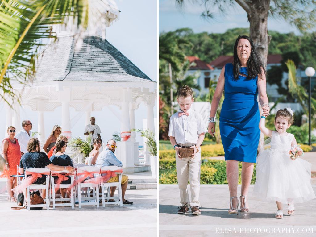 MARIAGE de rêve à destination enfants bouquetière invités cérémonie ceremony grand bahia principe jamaïque photo 6099 1024x768 - Un mariage de rêve à destination de la Jamaïque: Mindy & Mathieu