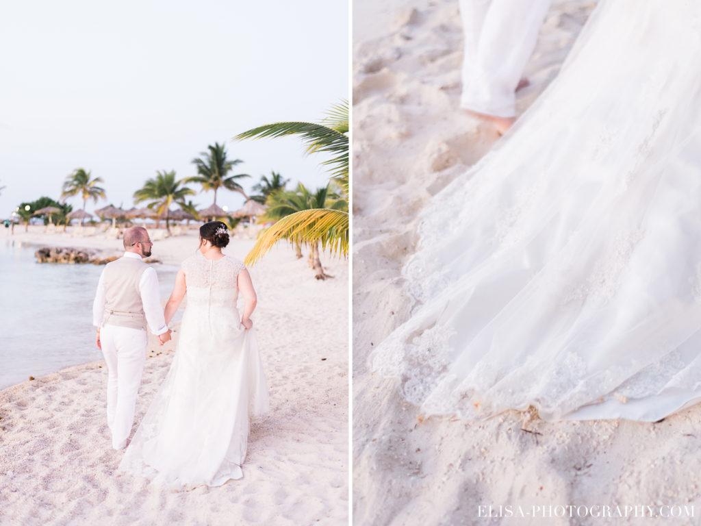 MARIAGE de rêve à destination portrait des mariés palmier plage sable grand bahia principe jamaïque photo 6099 1024x768 - Un mariage de rêve à destination de la Jamaïque: Mindy & Mathieu