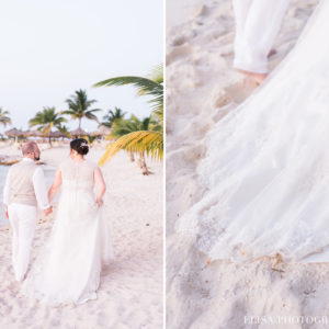 MARIAGE de rêve à destination portrait des mariés palmier plage sable grand bahia principe jamaïque photo 6099 300x300 - Galerie à destination