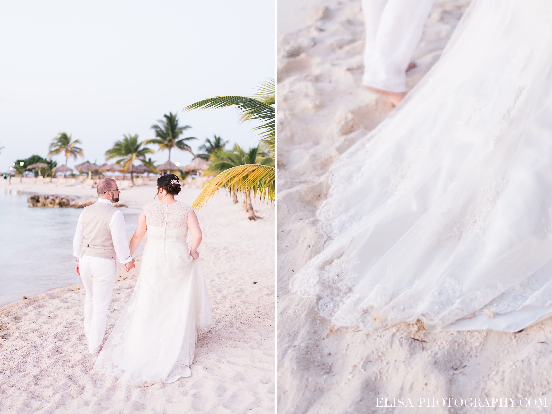 MARIAGE de rêve à destination portrait des mariés palmier plage sable grand bahia principe jamaïque photo 6099 - Galerie photos de mariages à destination