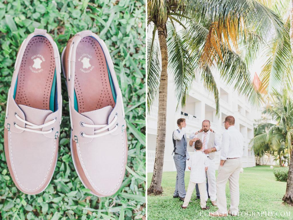 MARIAGE de rêve à destination souliers préparation marié palmier grand bahia principe jamaïque photo 6099 1024x768 - Un mariage de rêve à destination de la Jamaïque: Mindy & Mathieu