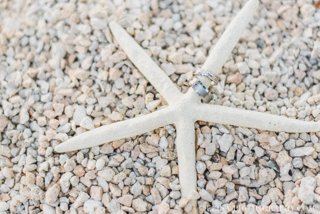 mariage de rêve à destination bague étoile de mer plage grand bahia principe jamaïque photo 5847 1024x684 - Un mariage de rêve à destination de la Jamaïque: Mindy & Mathieu