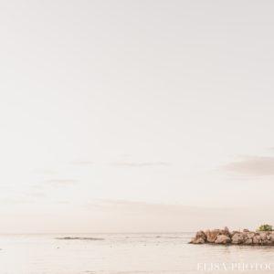 mariage de rêve à destination couple couché de soleil vagues sable plage mer des caraïbes grand bahia principe jamaïque photo 5918 300x300 - Galerie à destination