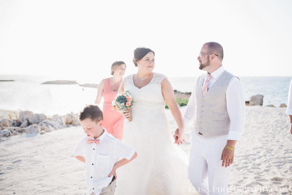 mariage de rêve à destination portrait des mariés mer des caraïbes grand bahia principe jamaïque photo 5571 1024x684 - Un mariage de rêve à destination de la Jamaïque: Mindy & Mathieu