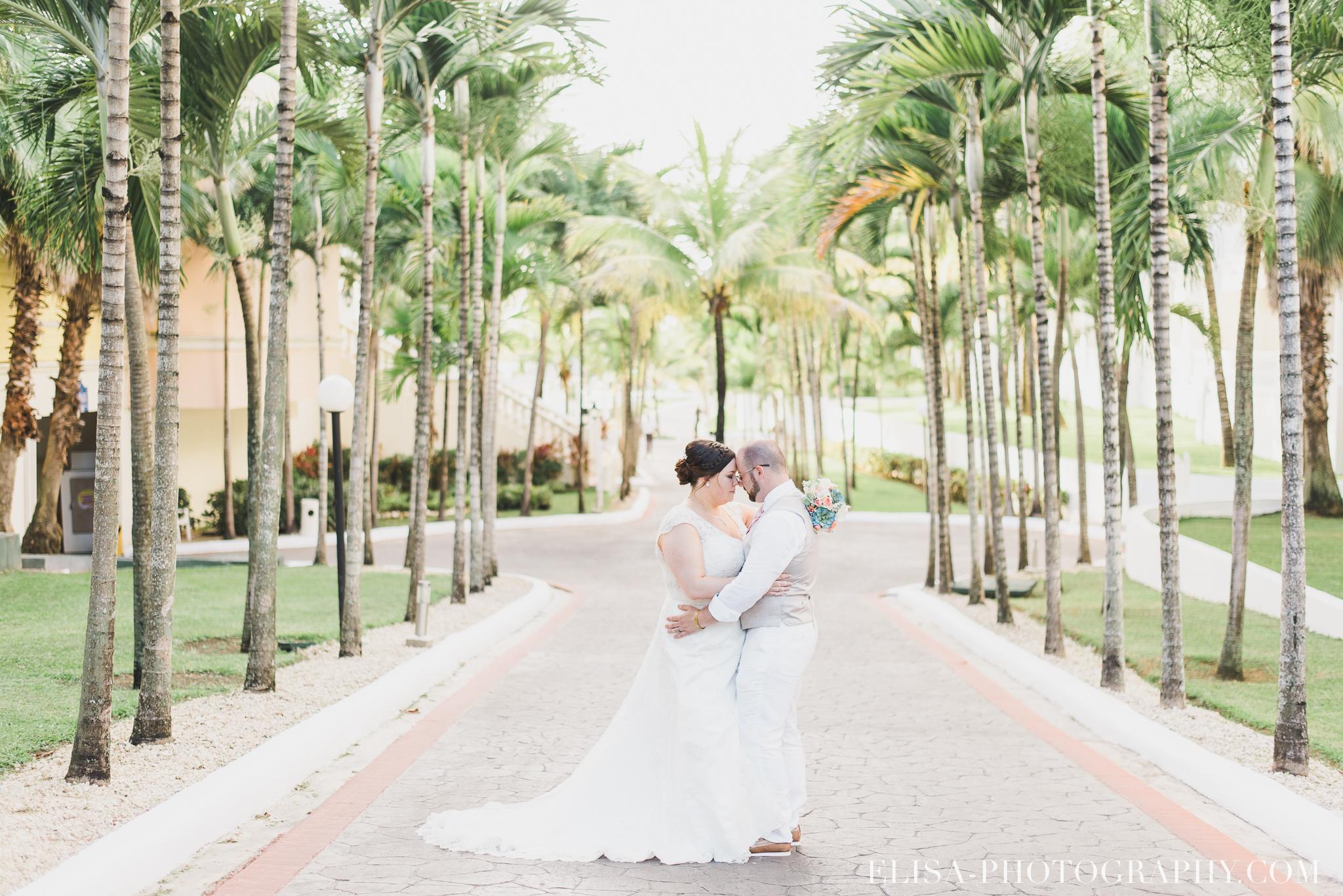 mariage de rêve à destination portrait des mariés palmiers mer des caraïbes grand bahia principe jamaïque photo 5741 - Galerie photos de mariages à destination