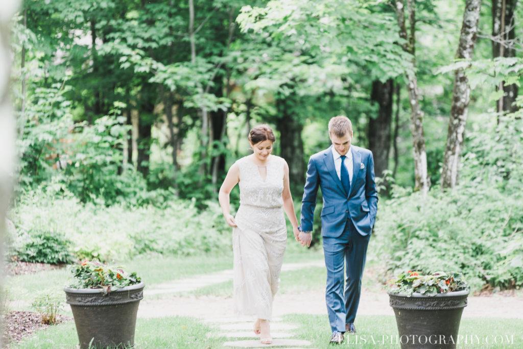 mariage français cérémonie chalet bois rond québec photo 6861 1024x684 - Mariage avec une touche vintage dans un chalet en bois ronds: Marine & François-Rémi