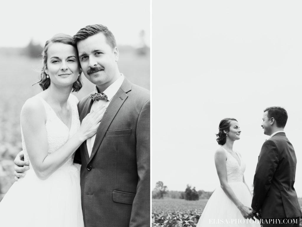 PHOTO mariage couple champs maïs BW noir et blanc vieux presbitère de batiscan 1024x768 - Mariage au vieux presbitère de Batiscan: Cindy & Dany