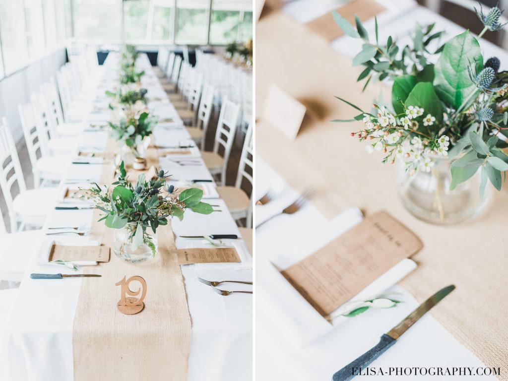 PHOTO mariage réception centres de table vieux presbitère de batiscan 1024x768 - Mariage au vieux presbitère de Batiscan: Cindy & Dany