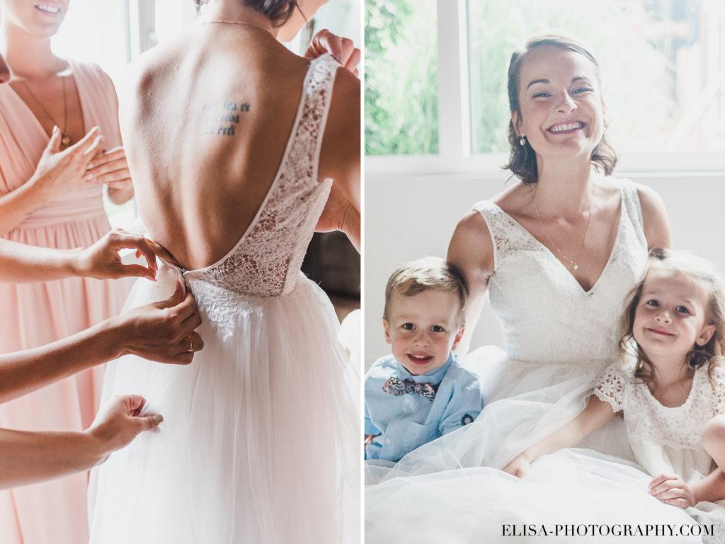 PHOTO mariage robe enfants vieux presbitère de batiscan 1024x768 - Mariage au vieux presbitère de Batiscan: Cindy & Dany