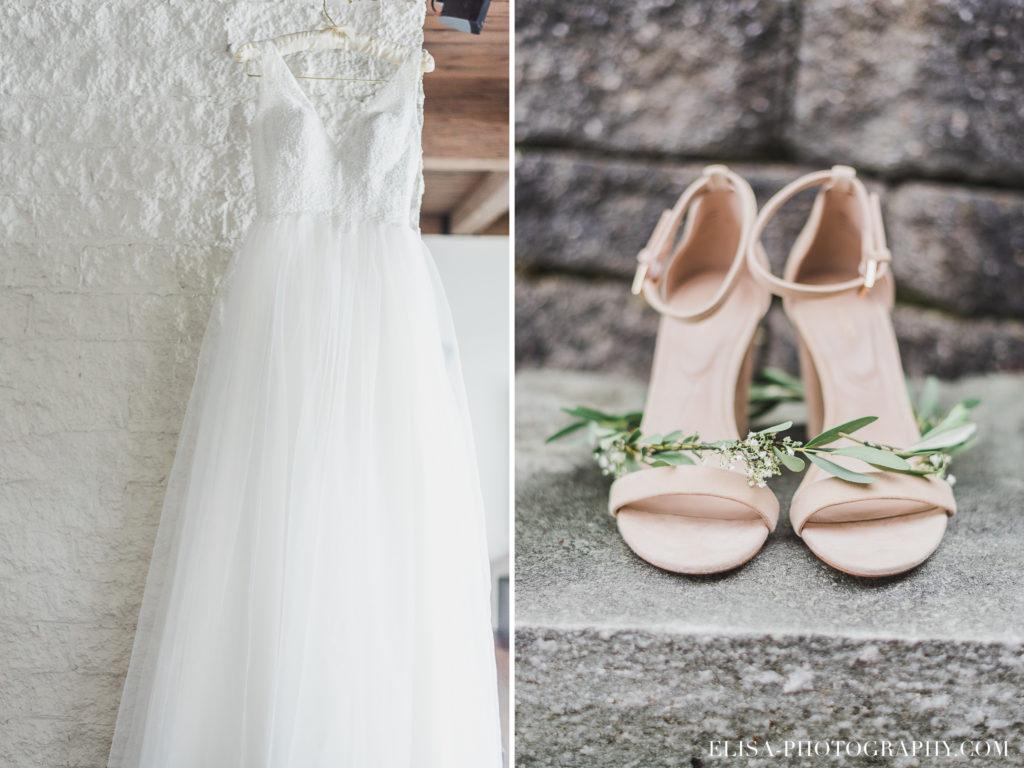 PHOTO mariage robe souliers couronne fleurs vieux presbitère de batiscan 1024x768 - Mariage au vieux presbitère de Batiscan: Cindy & Dany