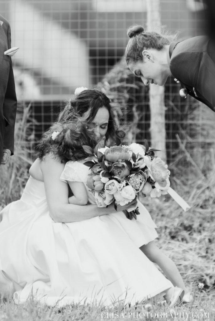 mariage cérémonie enfant mariée le germain charlevoix photo 8864 685x1024 - Mariage en toute élégance à l'hôtel Le Germain de Charlevoix: Véronique & Eric