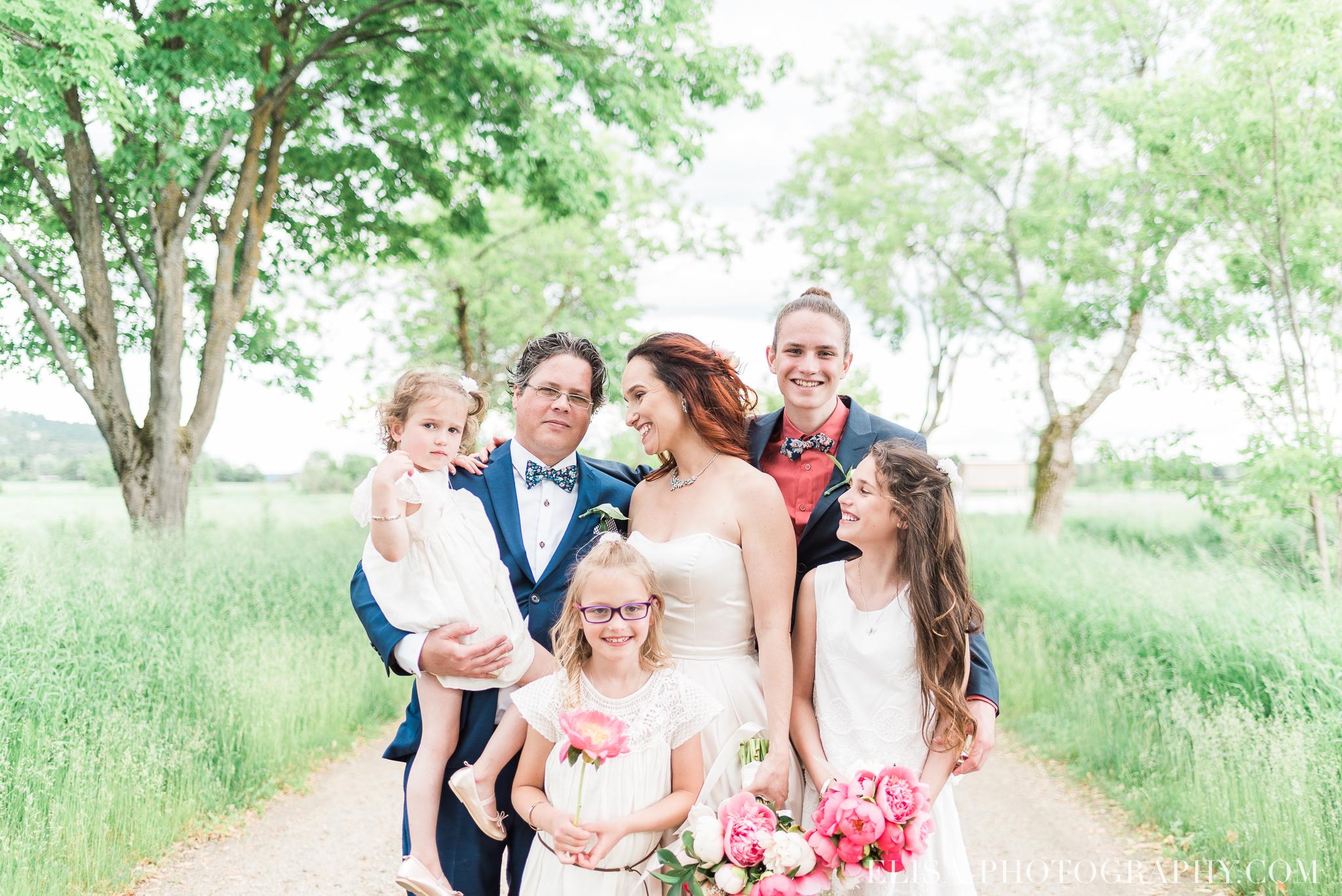 mariage famille enfants le germain charlevoix photo 9500 - Chronologie d'un mariage | Horaire idéal pour vos photos