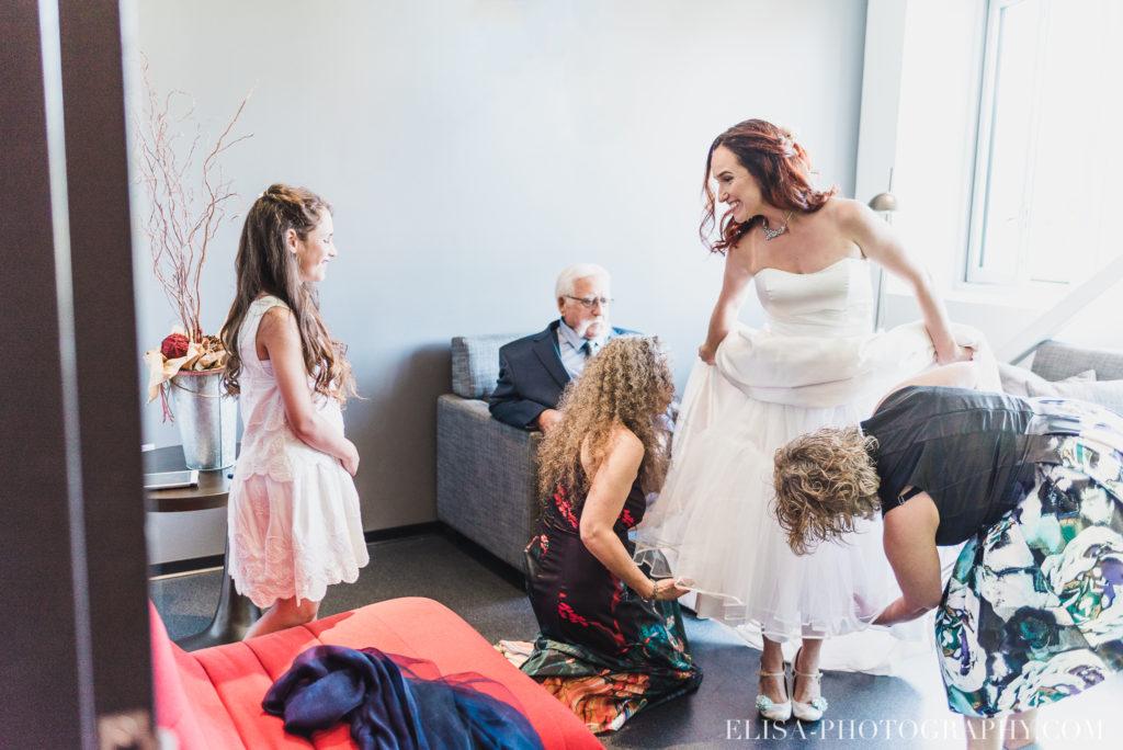 mariage robe de la mariée famille le germain charlevoix photo  1024x684 - Mariage en toute élégance à l'hôtel Le Germain de Charlevoix: Véronique & Eric