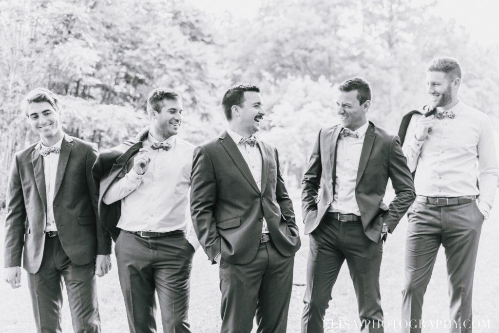 photo mariage garçons honneur marié vieux presbytère batiscan 2377 1024x684 - Mariage au vieux presbitère de Batiscan: Cindy & Dany