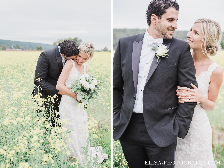 PHOTO MARIAGE champs fleurs jaunes orge couple portrait naturel domaine prive estate bord de l eau bouquet mariee cadeau - Mariage sur un domaine privé au bord de l'eau: Emmanuelle & Marc-Antoine