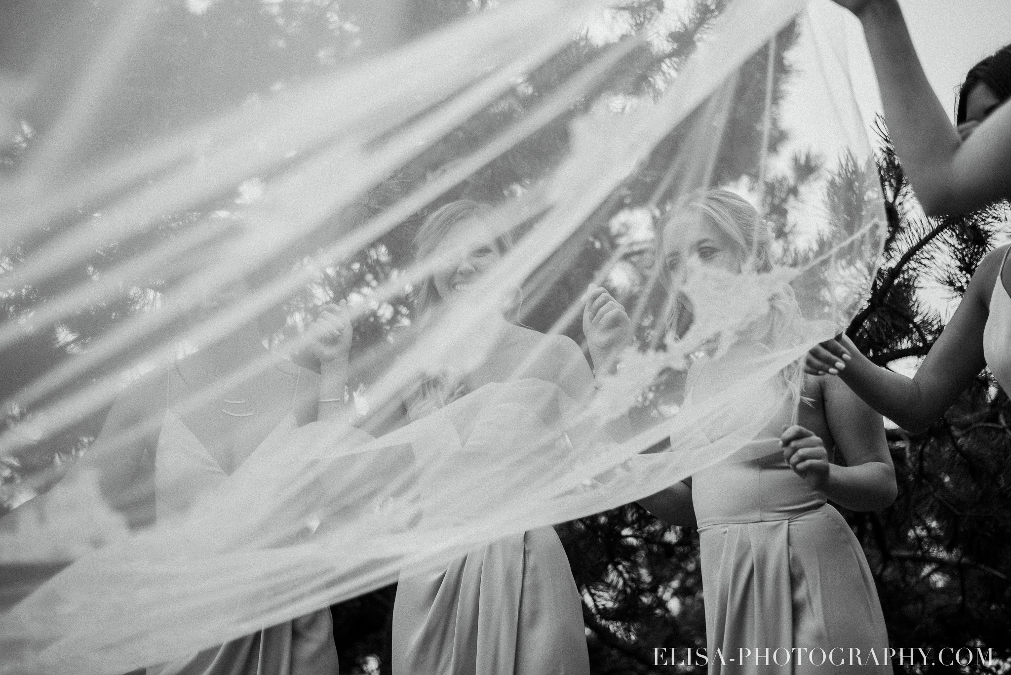 photo mariage domaine prive estate bord de l eau robe de la mariee cortege voile cape cod style 3173 - Mariage sur un domaine privé au bord de l'eau: Emmanuelle & Marc-Antoine