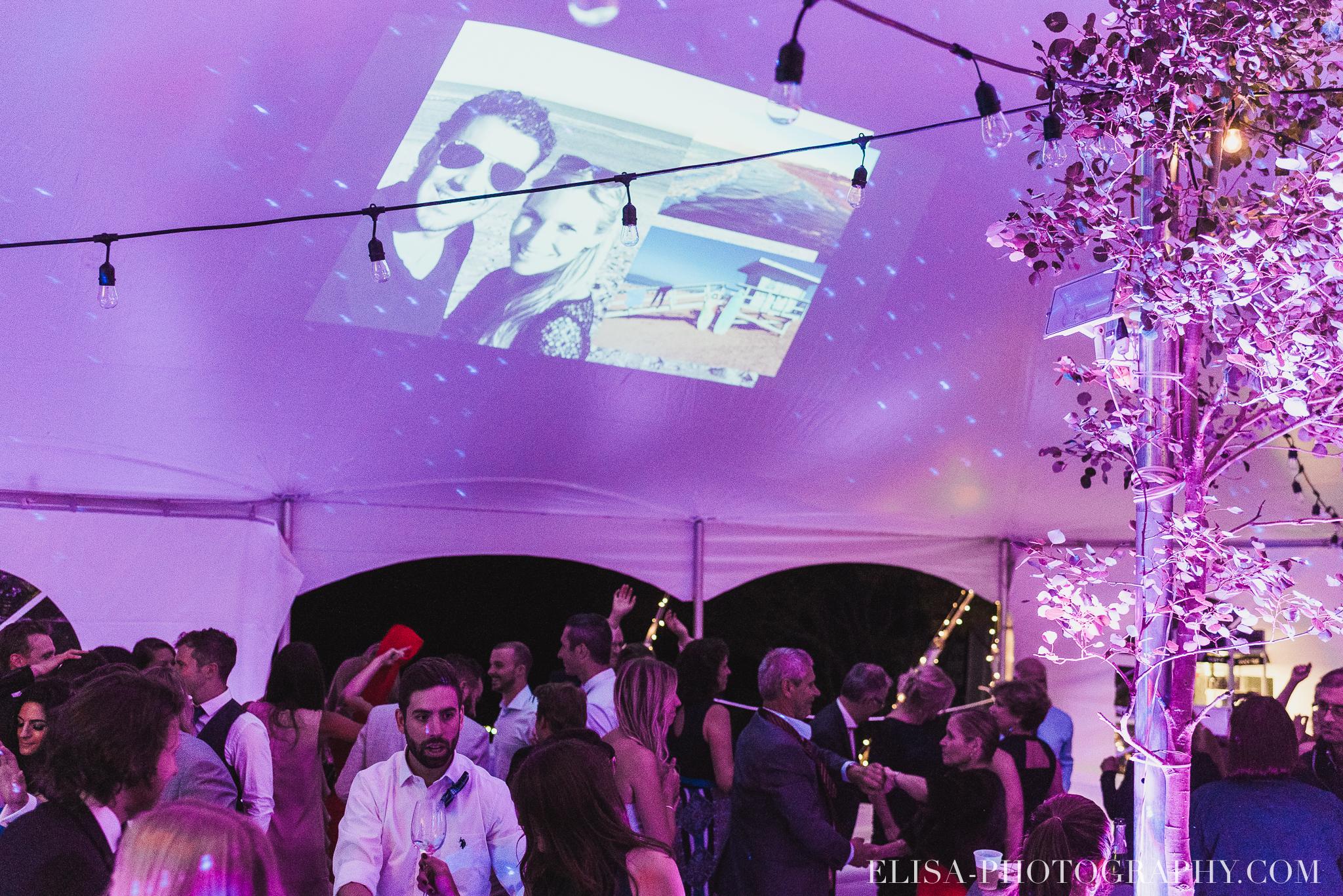 photo mariage reception fete danse projecteur chapiteau chic ville de quebec domaine prive estate bord de l eau 5440 - Mariage sur un domaine privé au bord de l'eau: Emmanuelle & Marc-Antoine