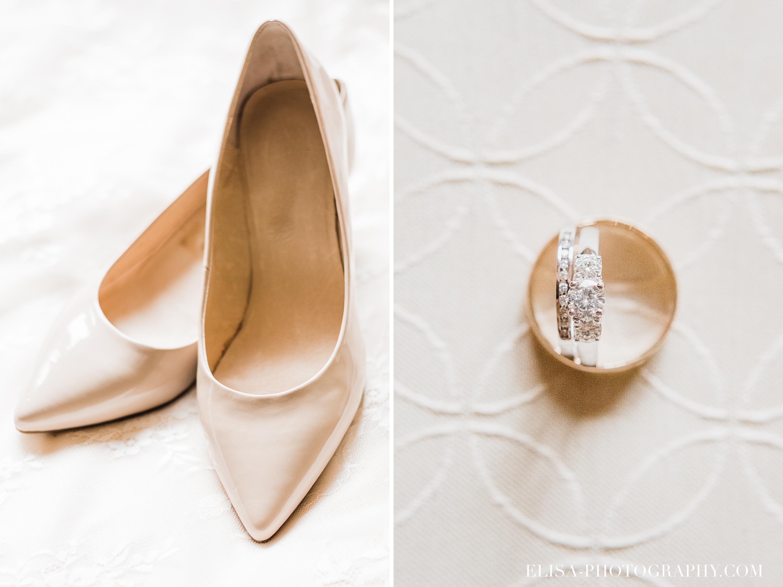PHOTO MARIAGE VILLE DE QUEBEC GOLF CAP ROUGE BAGUE ALLIANCES SOULIER DE LA MARIEE - Mariage au Golf de Cap-Rouge, ville de Québec: Stéphanie & William
