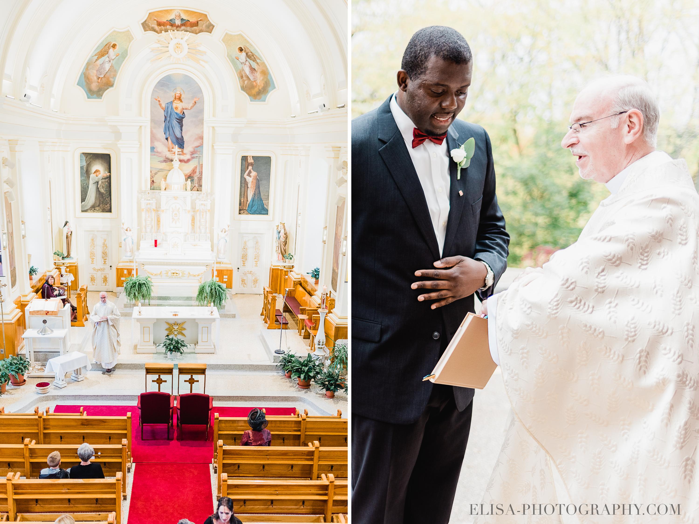 PHOTO MARIAGE VILLE DE QUEBEC GOLF CAP ROUGE EGLISE PRETRE - Mariage au Golf de Cap-Rouge, ville de Québec: Stéphanie & William