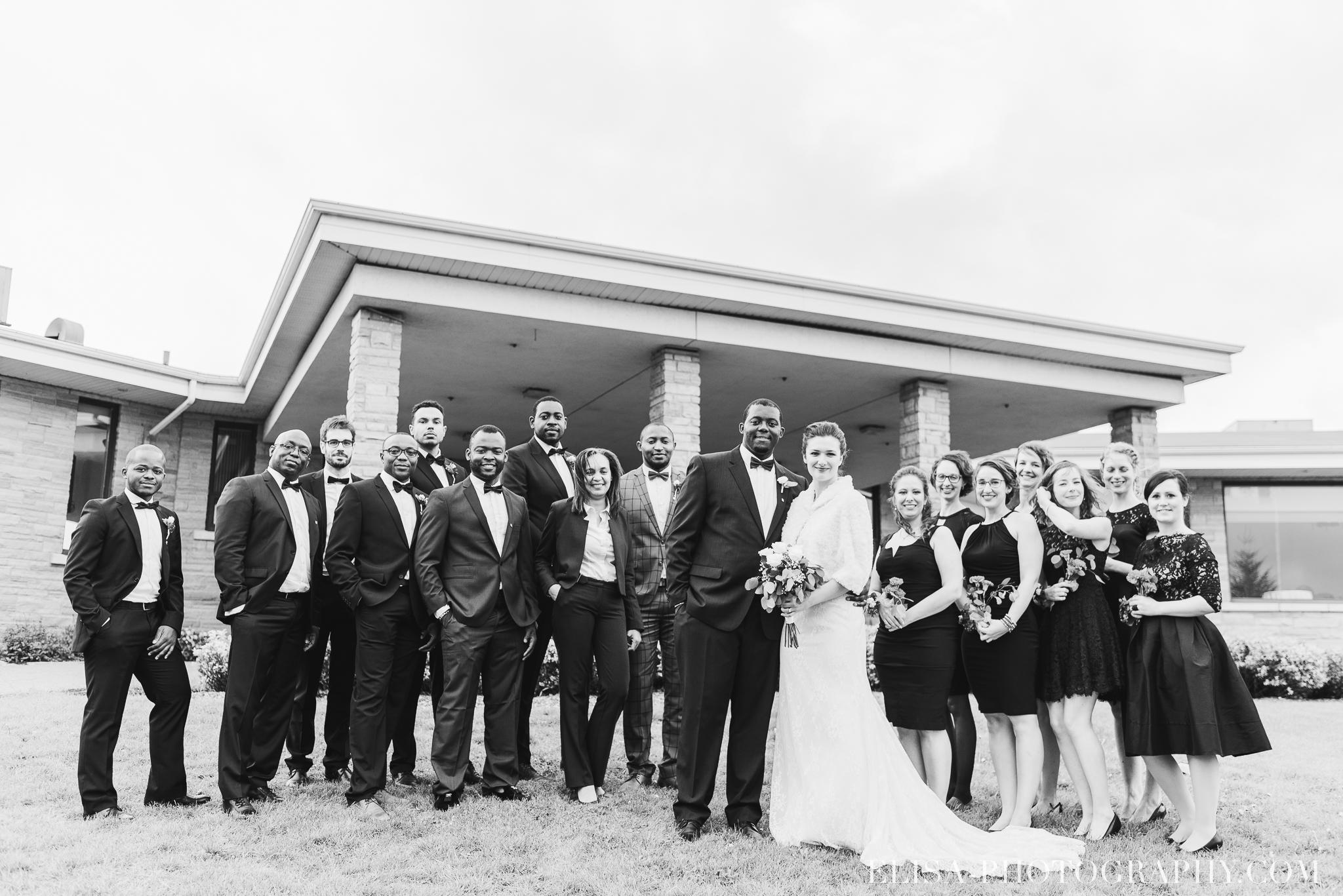 photo mariage golf cap rouge ville quebec cortege demoiselles honneur garcon honneur page automne 8042 - Mariage au Golf de Cap-Rouge, ville de Québec: Stéphanie & William