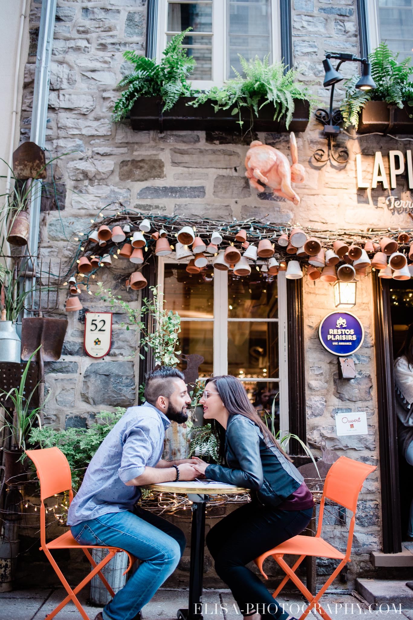 couple dans le Petit Champlain resto plaisirs