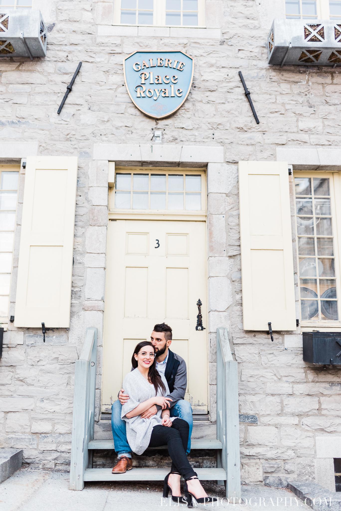 couple dans le Petit Champlain galerie place royale