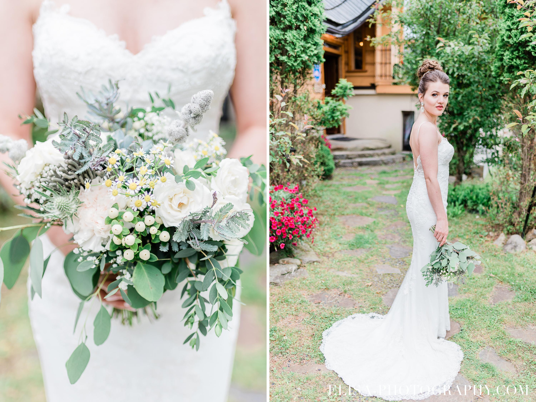 photo mariage a la montagne domaine tomali maniatin portrait de la mariee bouquet - Mariage à la montagne au domaine Tomali-Maniatyn