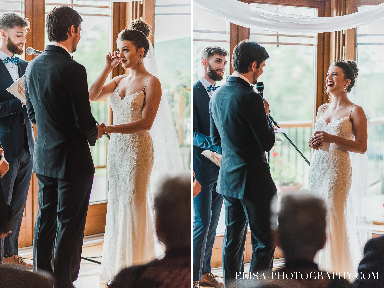 photo mariage a la montagne quebec domaine tomali maniatin ceremonie emotion - Mariage à la montagne au domaine Tomali-Maniatyn