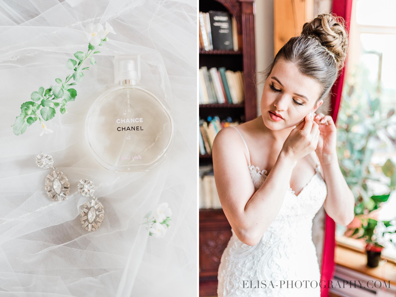 photo mariage a la montagne quebec parfum boucle orreilles mariee - Mariage à la montagne au domaine Tomali-Maniatyn