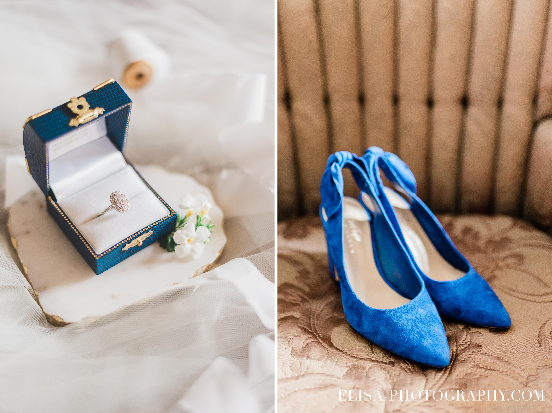 photo mariage a la montagne quebec souliers bleus alliances bagues vintage - Mariage à la montagne au domaine Tomali-Maniatyn
