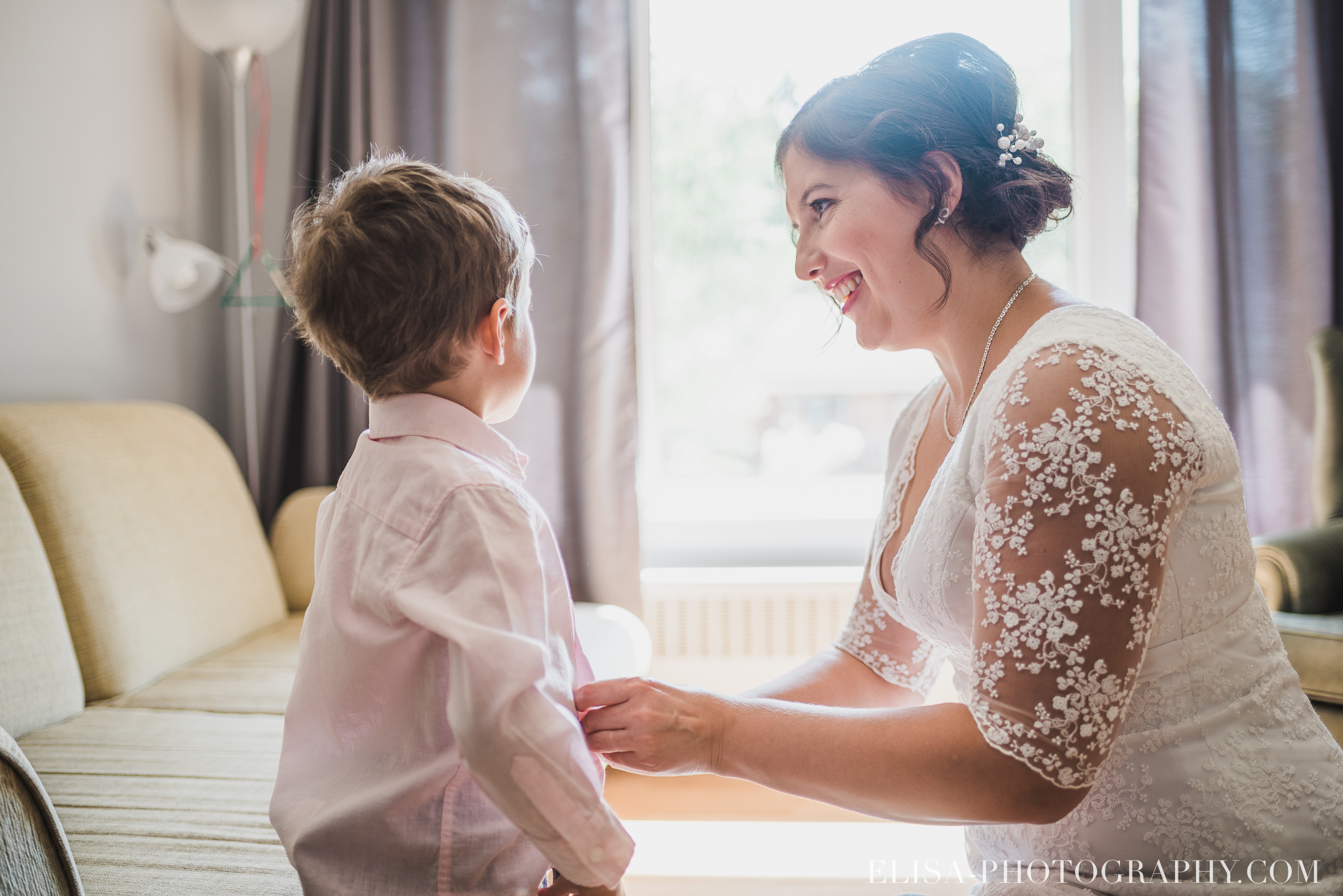 photo mariage domaine cataraqui britannique wedding preparatif enfant 2035 - Galerie photos de mariage