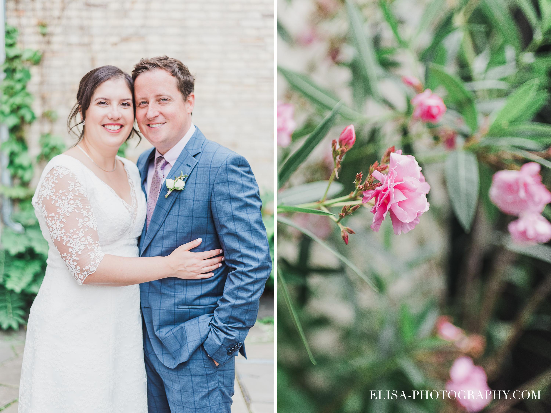 photo mariage domaine cataraqui portrait couple fleur bougainville - Mariage d'inspiration anglaise au domaine Cataraqui