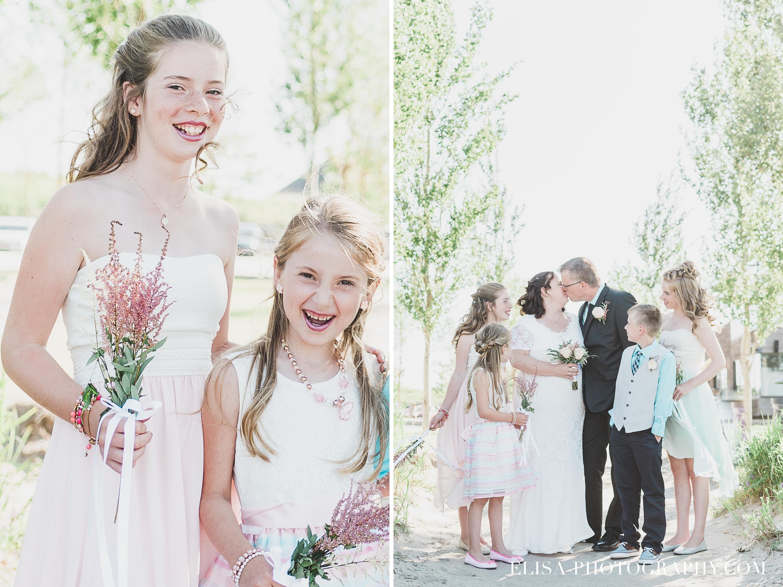photo mariage baie beauport portrait famille ado enfants naturel - Mariage à la plage de la baie de Beauport