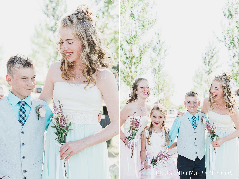photo mariage baie beauport portrait naturel famille ado - Mariage à la plage de la baie de Beauport