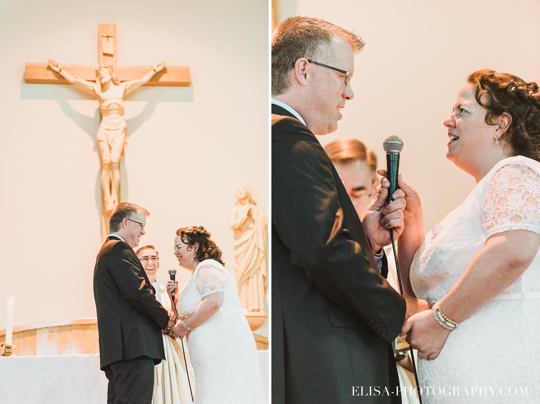 photo mariage ceremonie eglise st emile - Mariage à la plage de la baie de Beauport