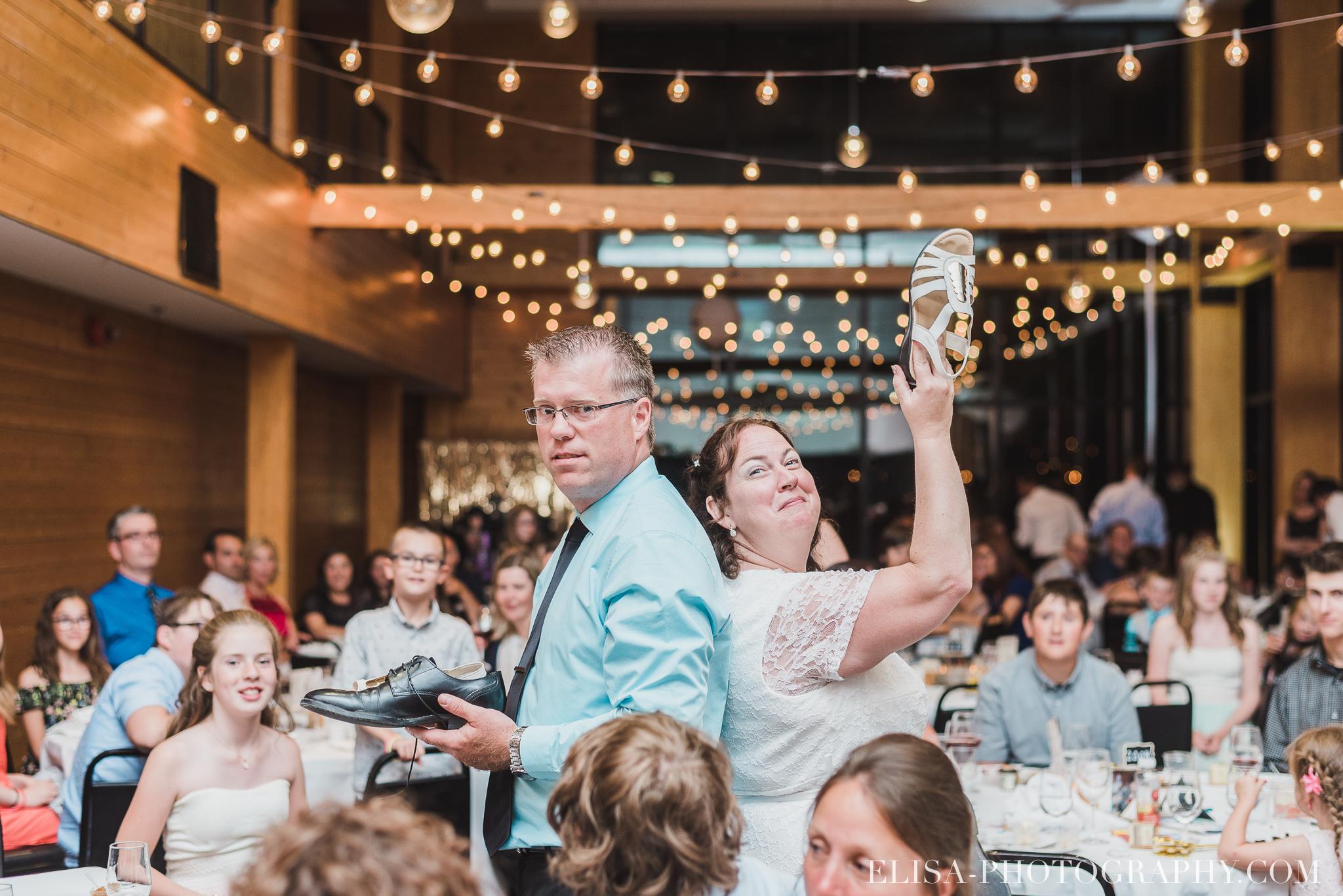 photo mariage quebec baie beauport reception fete danse des maries jeux soulier 8958 - Mariage à la plage de la baie de Beauport