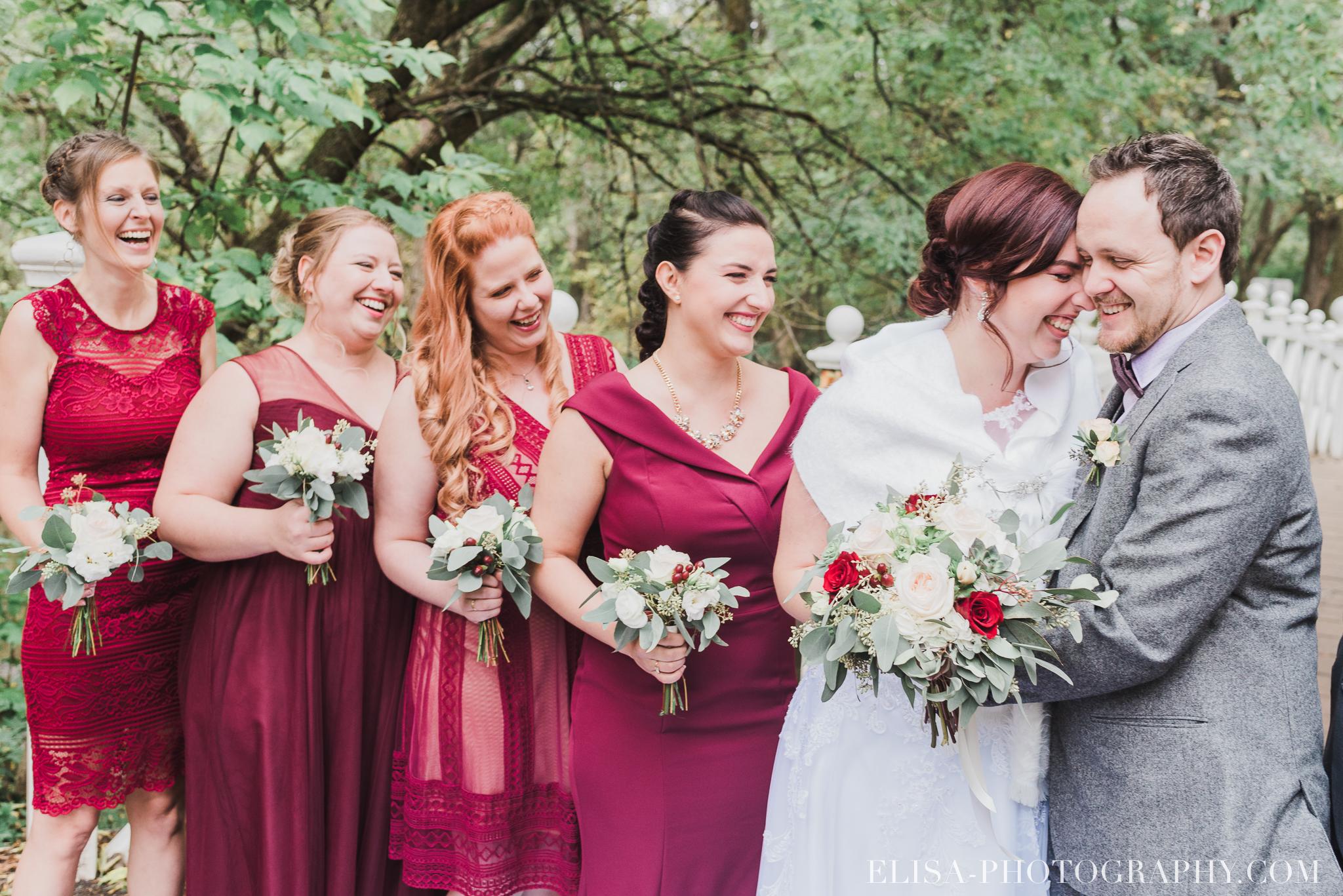 photo mariage automne domaine maizeret bourgogne marron cortege demoiselles honneur bouquet rose 5369 - Mariage à saveur automnale à l'Espace Saint-Grégoire