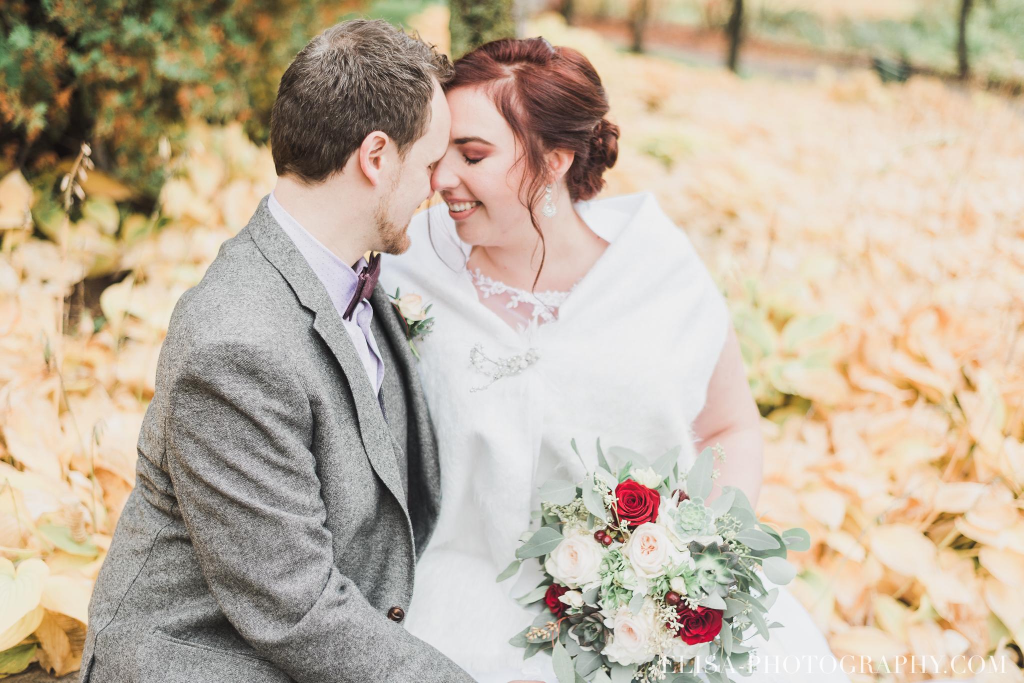 photo mariage automne domaine maizeret quebec naturel lumineuse romantique 5755 - Mariage à saveur automnale à l'Espace Saint-Grégoire