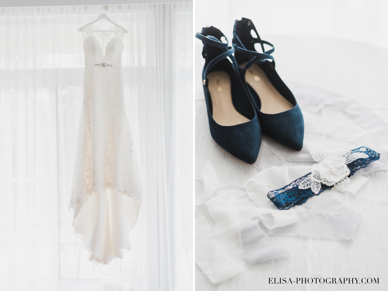 photo mariage entourage sur le lac beauport quebec robe souliers bleus marines - Smoke bomb et mariage dans les vergers de la Ferme Genest à Saint-Nicolas