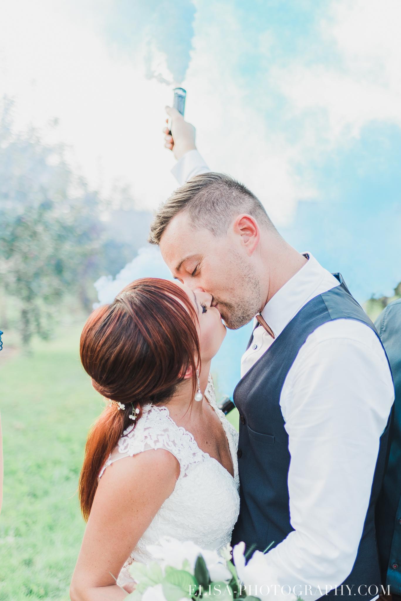 wedding Smoke bomb et mariage