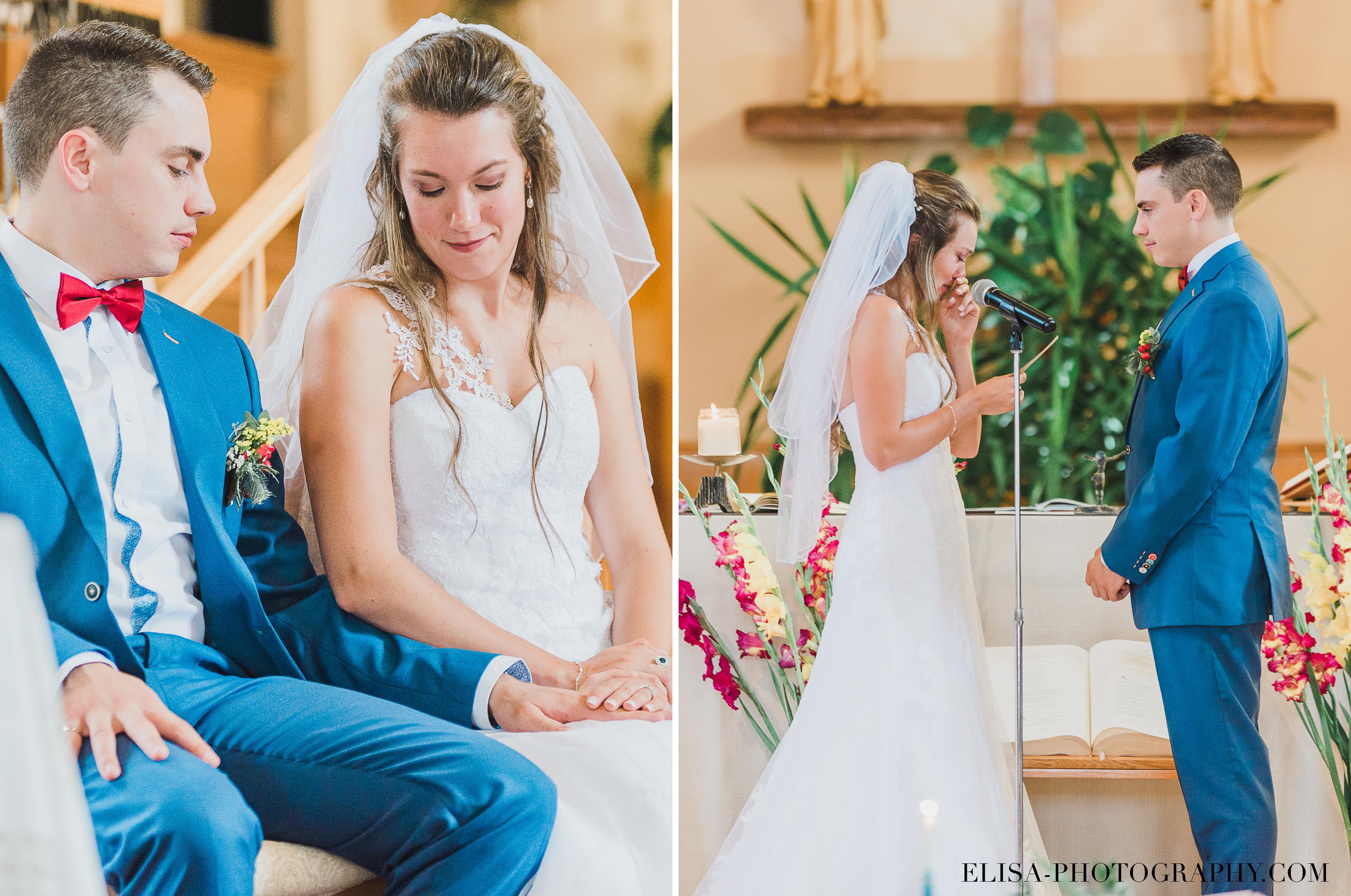 photo mariage grange rouge quebec ceremonie voeux - Mariage coloré à la grange rouge de Brompton