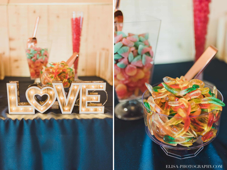 photo mariage reception ferme genest vergers table sucre - Smoke bomb et mariage dans les vergers de la Ferme Genest à Saint-Nicolas