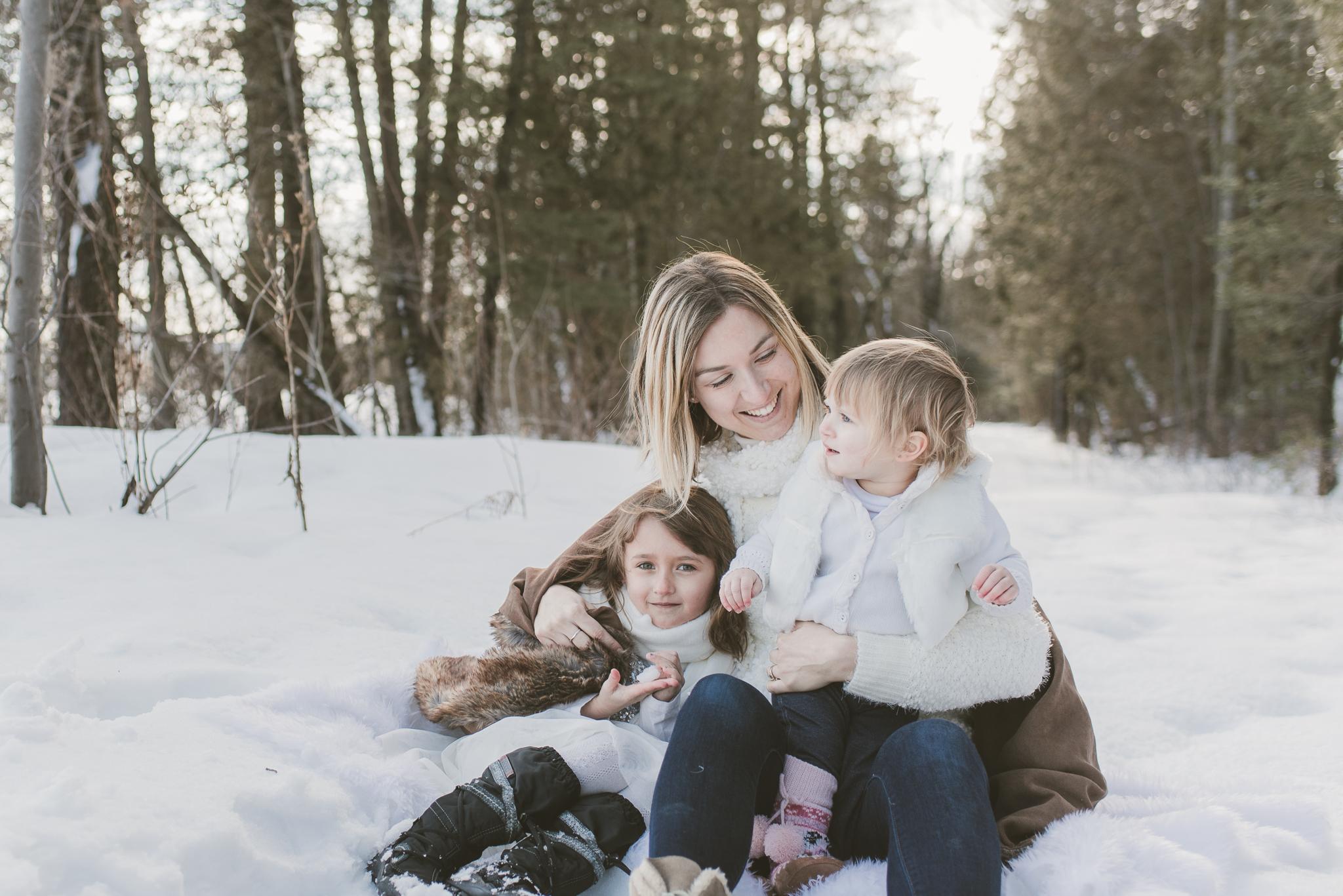 hiver doux famille 1991 - Secrets de pro pour prendre et éditer des images de votre bébé